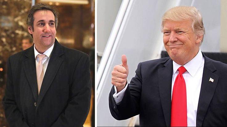 """Michael Cohen, Anwalt von Donald Trump, wurde bekannt, als er ungefragt einen """"Friedensplan"""" für die Ukraine vorstellte. Wir stellen den Juristen vor."""