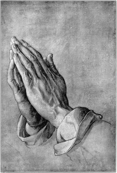 Northern Renaissance Praying Hands by Albrecht Durer Created: 1508 'Praying Hands' is a drawing of Albrecht's brothers hands after he painstakingly supported him by working in the mines.