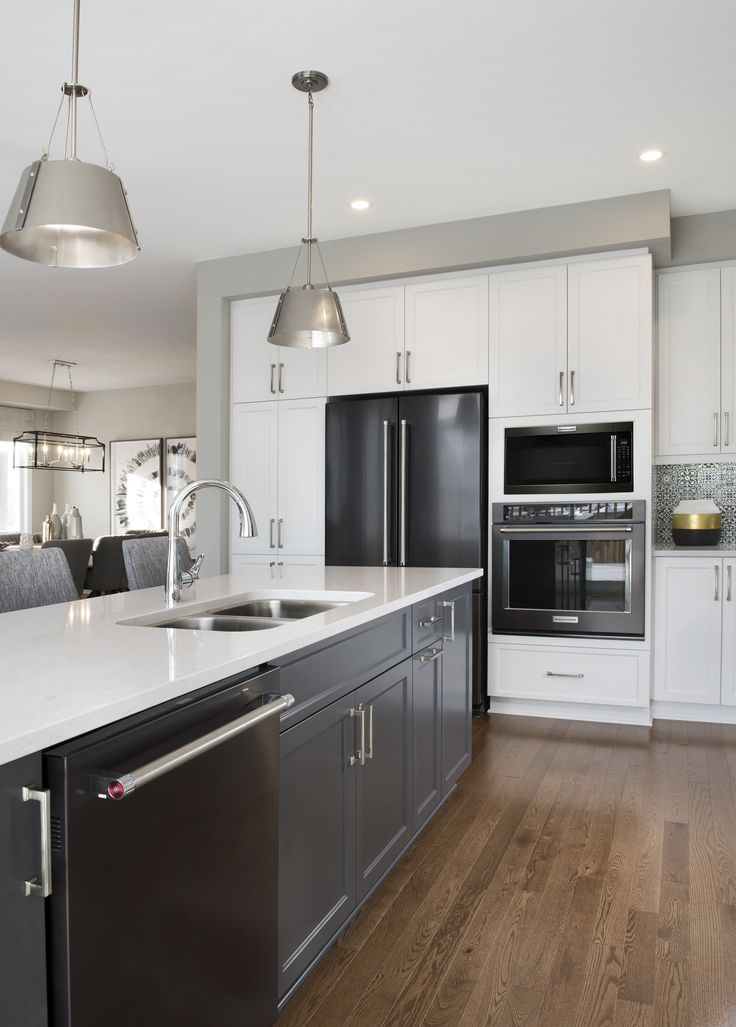 This is the Kitchen of the Turner model home located in our Poole Creek community in Kanata/Stittsville.