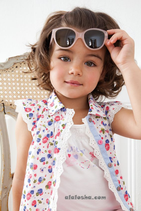 ALALOSHA: VOGUE ENFANTS: Absorba SS'14 toddler collection for girls