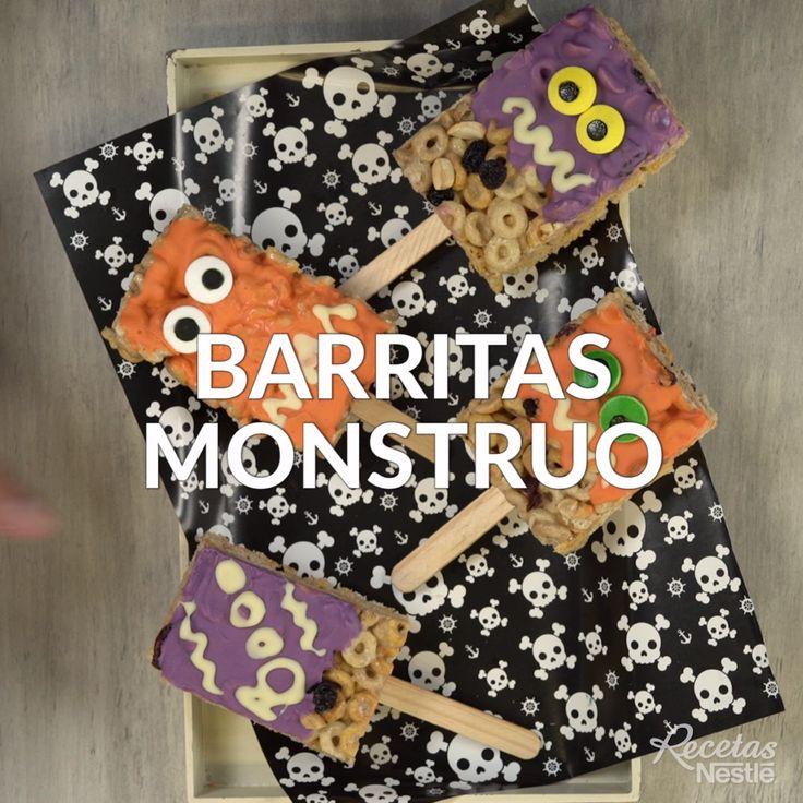 Te encantarán estas aterradoras pero deliciosas #BARRITAS #MONSTRUO ☢️ ¡Prepáralas y cuéntanos cómo te quedaron!😋 Comida De Halloween Ideas, Postres Halloween, Ideas Para Fiestas, Quesadillas, Food Dishes, Diy For Kids, Kids Meals, Halloween Decorations, Tasty