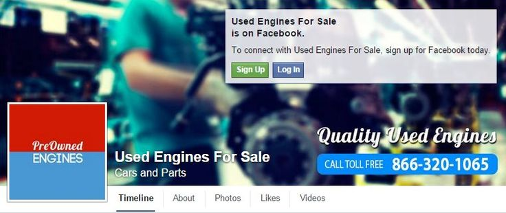 Used Engines For Sale. We have used engines for sale for nearly any make and model. Whether you're looking for used.. https://www.facebook.com/used.engines.for.sale