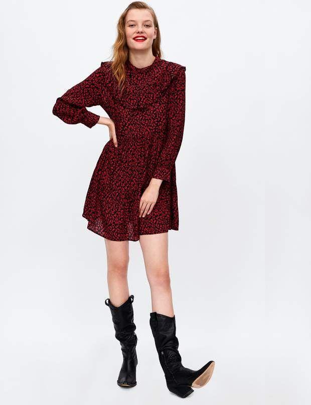 Robe Rouge Et Noir Zara Outlet 29211 Dff30