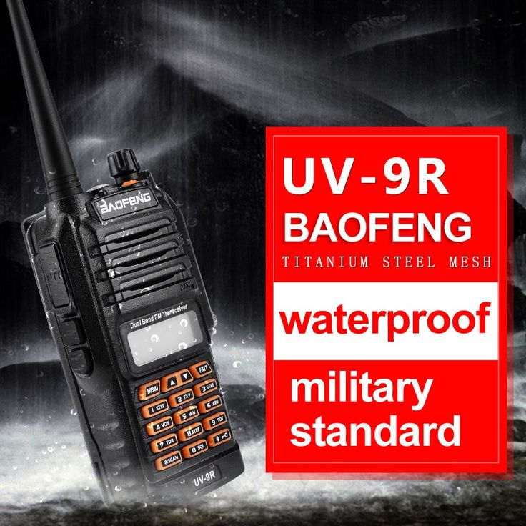 Wholesale prices US $38.90  2017 New Baofeng UV-9R Handheld Walkie Talkie 8W UHF VHF UV Dual Band IP67 Waterproof UV 9R Two Way Radio Interphone Transceiver  #Baofeng #UV-R #Handheld #Walkie #Talkie #Dual #Band #Waterproof #Radio #Interphone #Transceiver