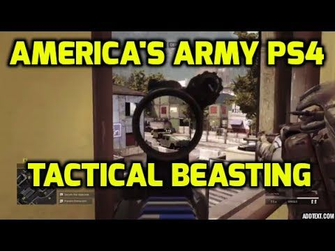 [Video] America's Army Closed Beta Gameplay - this sure scatches that tactical shooter itch #Playstation4 #PS4 #Sony #videogames #playstation #gamer #games #gaming