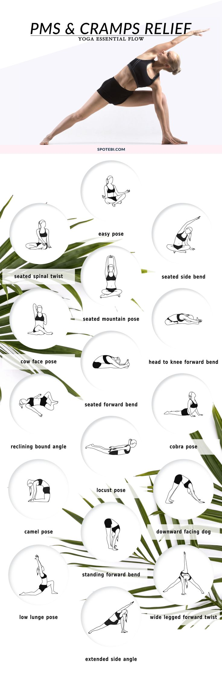 PMS AND CRAMPS RELIEF YOGA ESSENTIAL FLOW