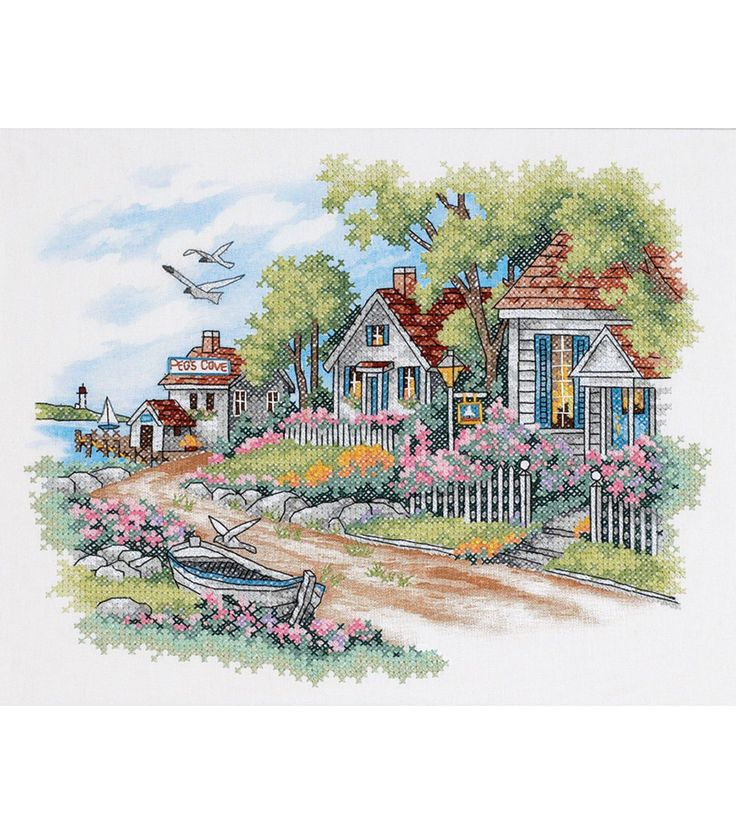 Dimensions - Stamped Cross Stitch.  From elegant to whimsical; landscapes to still-lifes; realistic to fantasy; no matter your style Dimensions has a fabulous needle-craft kit for you.  The high quali