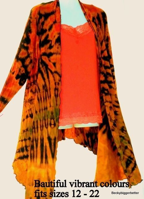 Womens Jacket one size 12 14 16 28 20 22 #softflowingjacket