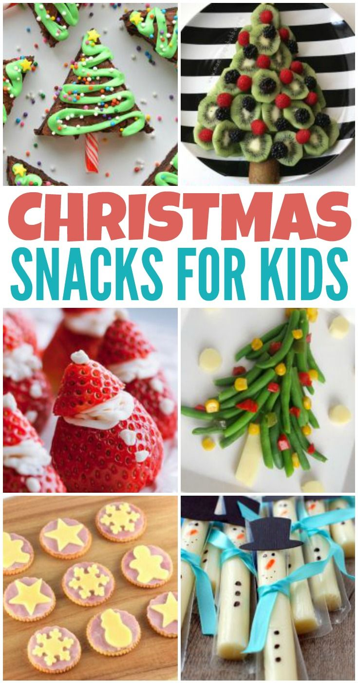 Christmas Snack Ideas for Kids! - Kreative in Life