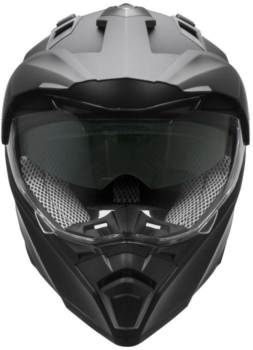 Casque de motocross nouvelle collection 2017 (Cross Tour 2) Matte Black 2