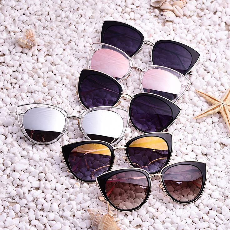 Alloy Metal Frame Women Sunglasses //Price: $9.95 & FREE Shipping //
