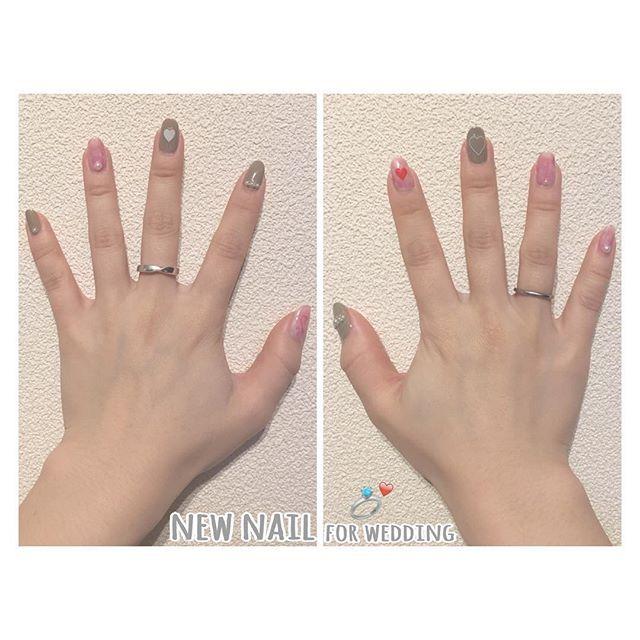 2017.04.08(sat) . 8日は友達の結婚式でした💒 それ用に3月末に変えたネイル💅 . 白とピンクのマーブル&グレー。 パールと♥︎のシールでそれっぽく💭 可愛くできた〜〜☺️👏🏻 . ドレス姿とっても綺麗だったし 久しぶりに高校の部活の子たちに会えて それもとっても嬉しかったし 余興もなんとか成功してよかった😂💞 結婚式行くと幸せ分けてもらえる❣ . #nail #selfnail #handnail #kawaii #favorite #pink #gray #marble #heart  #instagood #instafashion #instalike #instafollow #ネイル #セルフネイル #ハンドネイル #マーブルネイル #可愛い #お気に入り #お洒落さんと繋がりたい