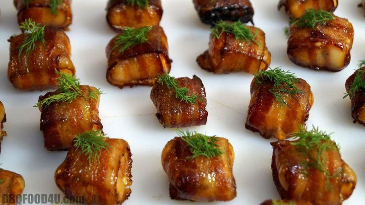 Smoked Bacon Salmon Bite Recipe - BBQFOOD4U
