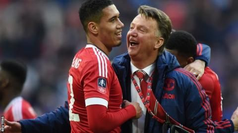 Euro 2016: Louis van Gaal made me England's first-choice - Chris Smalling