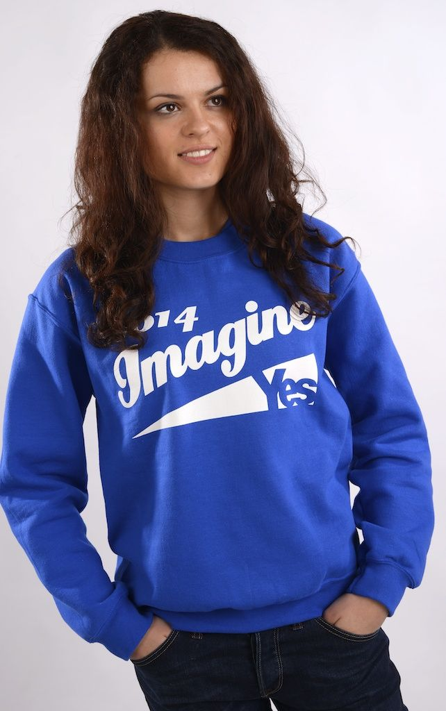 Yes Scotland Imagine Fleece Was £21.99  Now £19.99  #indyref #Scotland #Yescampaign #Imagine2014 #Jumper