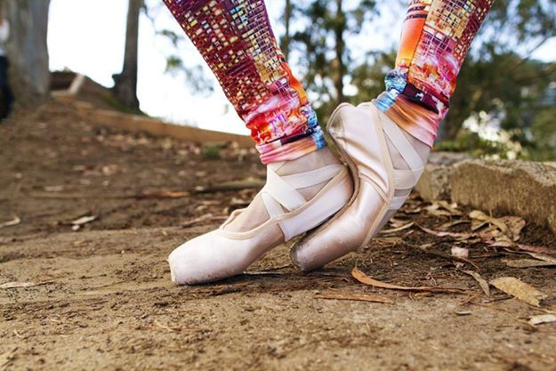 Funky Ballet tights