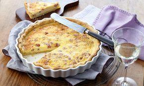 Quiche Lorraine Rezept: Eine pikante Quiche mit Speck und Käse zum Brunch - Eins von 5.000 leckeren, gelingsicheren Rezepten von Dr. Oetker!