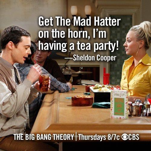 The Big Bang Theory Sheldon. Long Island Ice Tea.