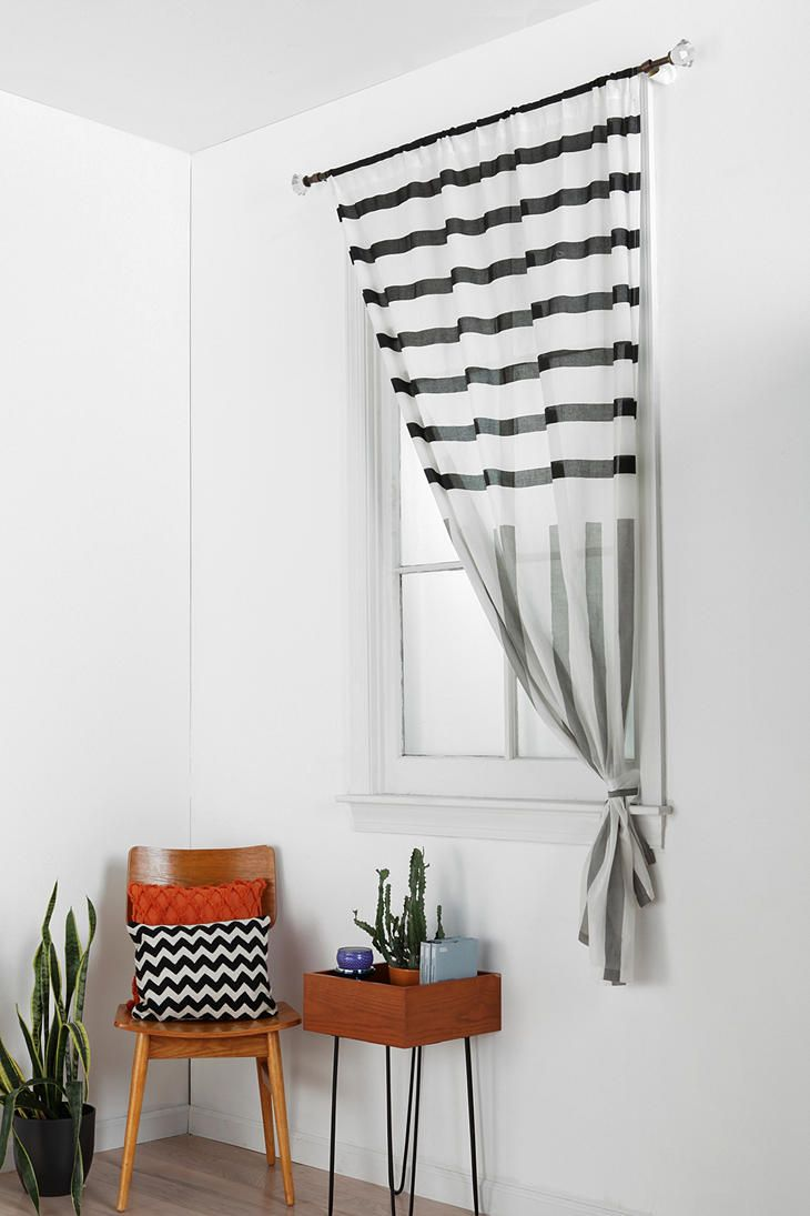 Assembly home mixed stripe curtain for the home pinterest