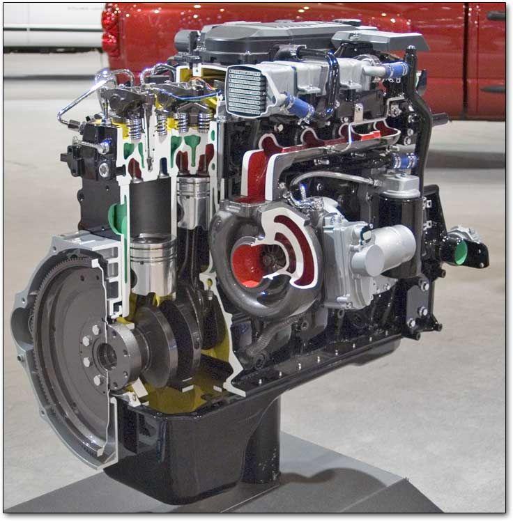Cummins 5.9 liter and 6.7 liter inline six-cylinder diesel engines