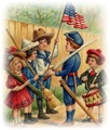 Vintage 4th of July Images for download and free printing