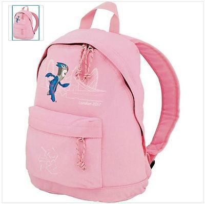 Official #london 2012 #girls' #mascot pink back pack bnwt,  View more on the LINK: http://www.zeppy.io/product/gb/2/360632466279/