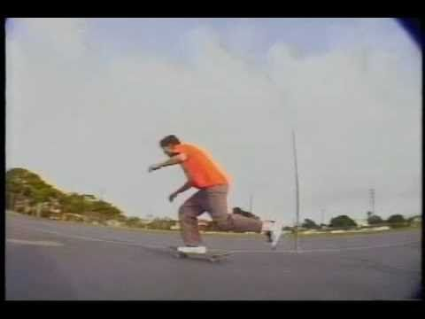 Rick Howard's part from the Classic Plan B skate video Virtual Reality.