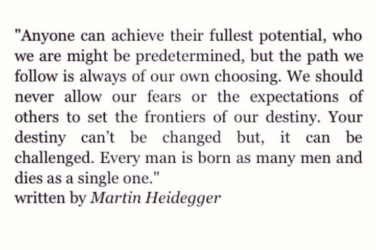 Heidegger quote from NCIS - as read by Timothy McGee