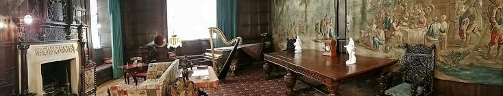 Music Room, St. Fagan's  National Museum of History, Wales