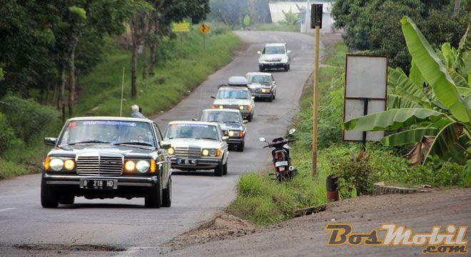 Hujan Badai Guyur Kepulangan Touring Ultah Ke-14 MTC Indonesia