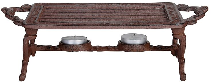 Esschert Design USA Cast Iron Heating Plate >>> To view further for this item, visit the image link.