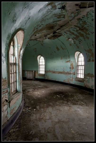 Buffalo State Hospital... you'll never know if something just around the bend until it's too late.