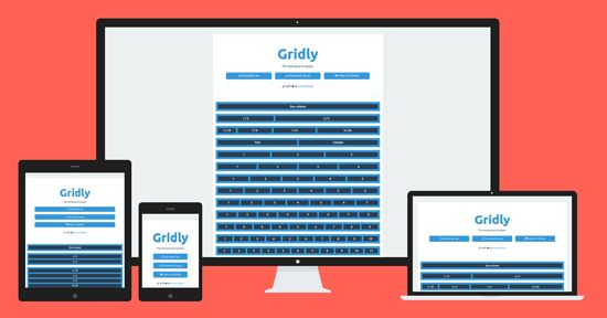 Gridly, Free Minimal Grid System