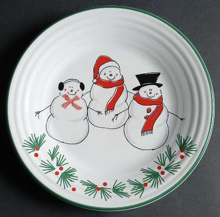Fiesta® Snowman Family made by Homer Laughlin China Company | Replacements, Ltd