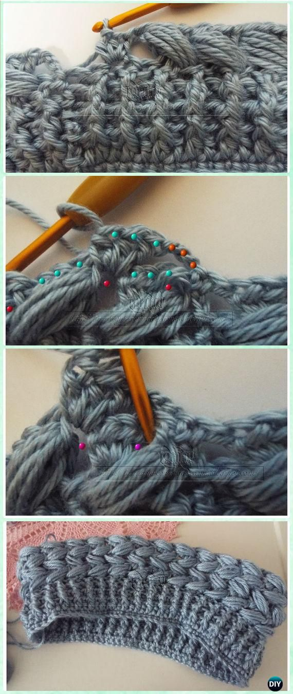 Crochet Braid Puff Stitch Hat Free Pattern and Video Instruction