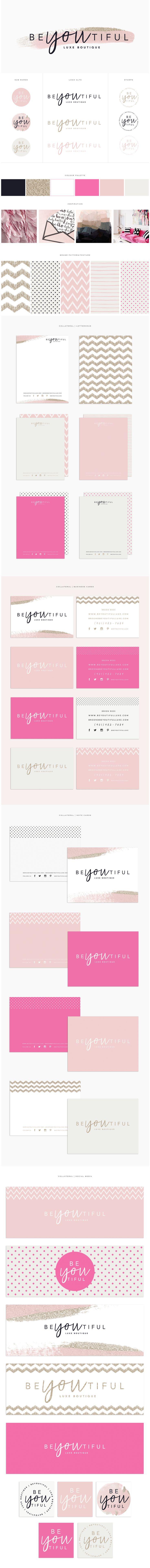 Brand Design for Beyoutiful Luxe Boutique | www.brandmebeautiful.co.uk