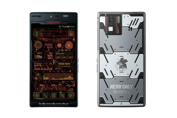 Sharp Neon Genesis Evangelion SH-06D Android Phone: Android Smartphone, Sh06D Android, Neon Genesis Evangelion, Android Gadgets, Evangelion Sh 06D, Sharp Neon, Android Phones, Evangelion Sh06D, Editing Android