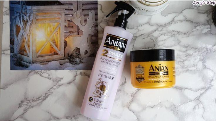 Îngrijirea părului cu produse Anian