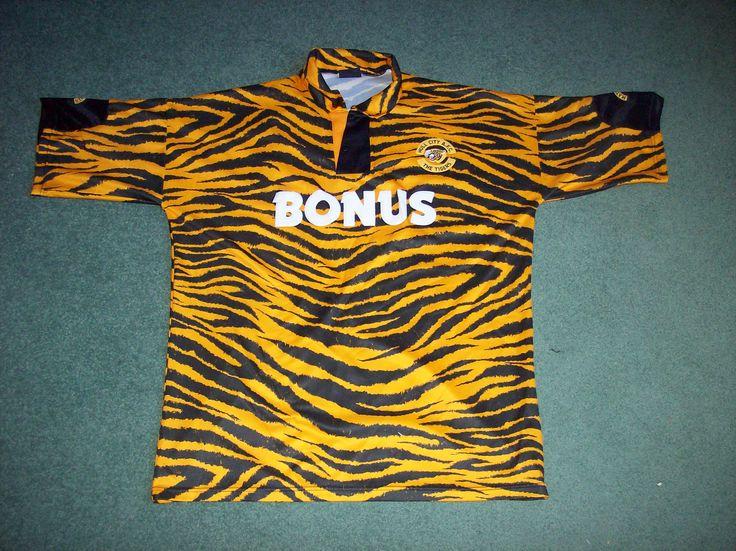 Hull City Tiger Print 1992/93