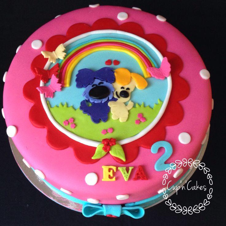 Woezel en pip taart www.cupncakes.net