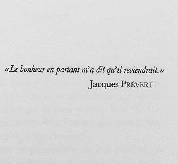 Le bonheur - Jacques Prévert