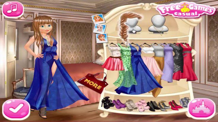 Princesses Party Marathon Disney Frozen Games