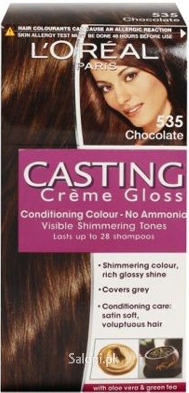 L'OREAL PARIS CASTING CREME GLOSS 535 CHOCOLATE Saloni™ Health