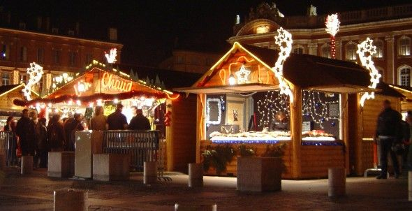 Outdoor Christmas Markets in Madrid