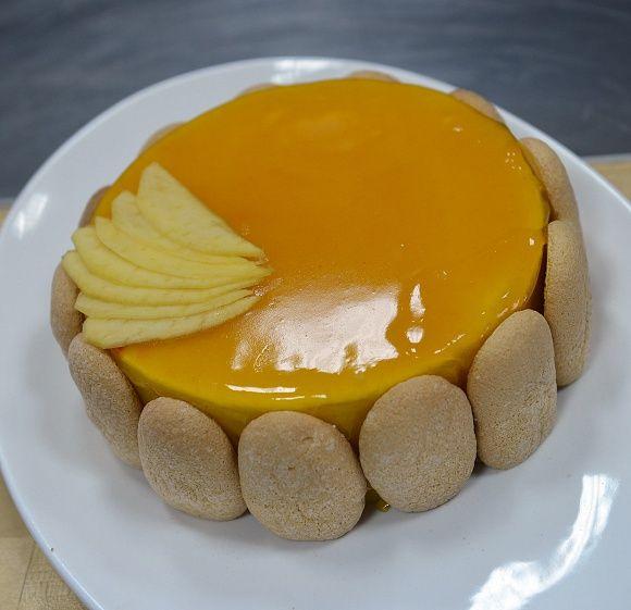 Манговый торт-суфле