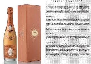 Louis Roederer Cristal Champagne aways wonderful