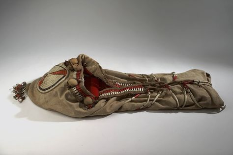 Колыбель Арапахо. 1900 год, Вайоминг.