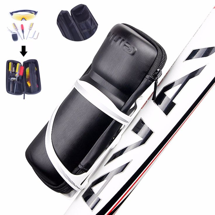 20.8*8.5cm Bicycle Front Frame Tube Bottle Tools Bag Sport Cycling Bike EVA Storage Bags Cycling Pannier Bicycle Repair Tool Box