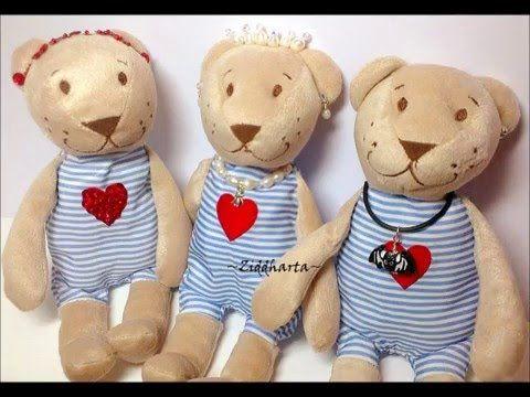 IKEA-hack Valentine Day Teddy Bear: Alla Hjärtans Dag-Nalle DIY