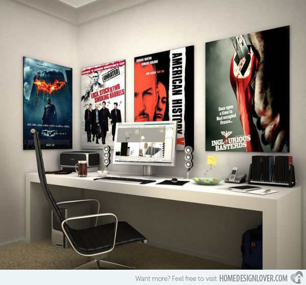 desks for teenage boys | 20 Ingenious Workspaces for Teenage Boys | Home Design Lover
